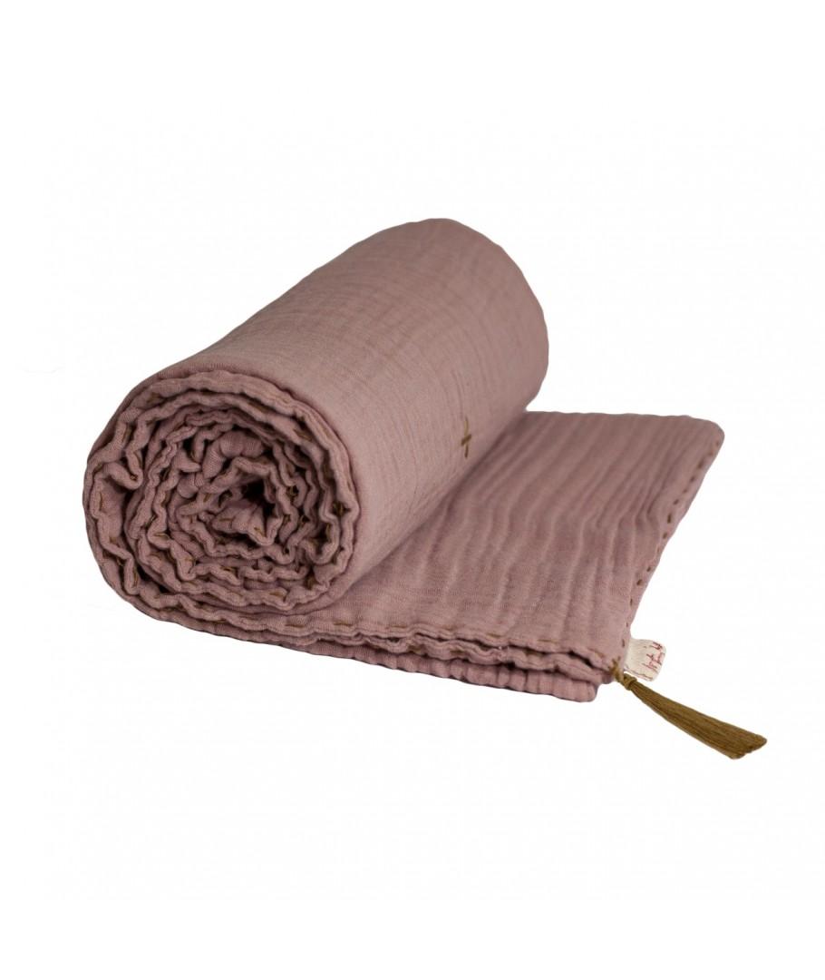 numero-74-koc-summer-blanket-dusty-pink-przygaszony-roz