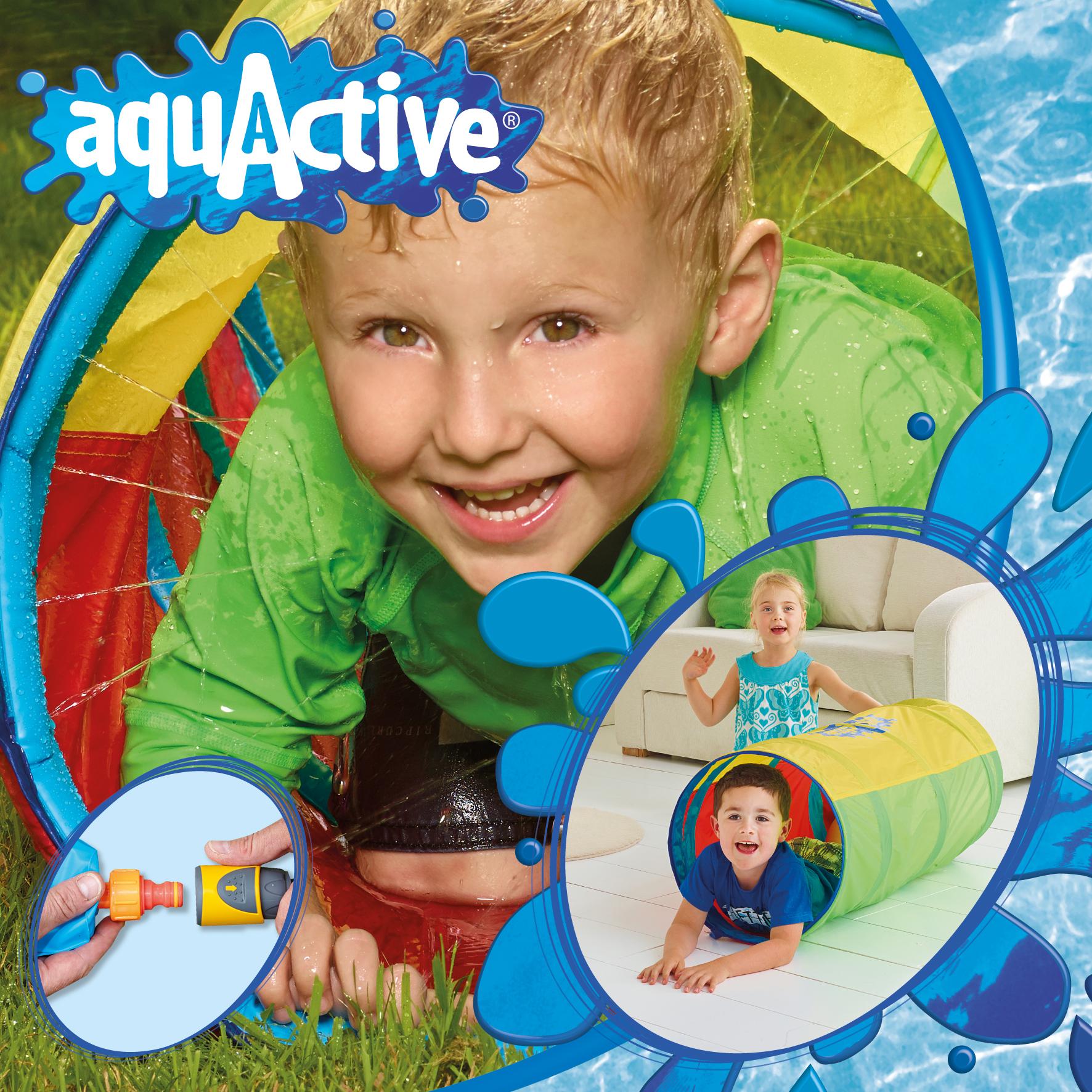 152WAT01E Aqua Active Water Tunnel layout