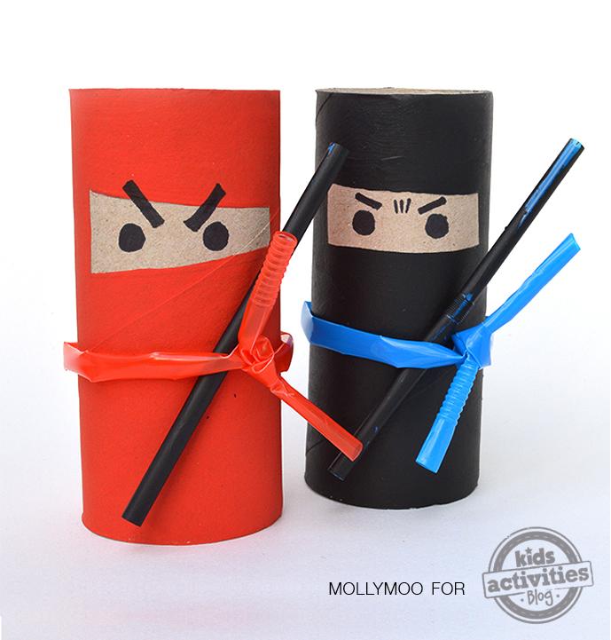 ninja-toilet-roll-ninjas-crafts-kids