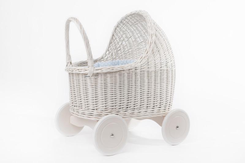 1 Petit Landau - Wózek dla Lalek Amelie Biały
