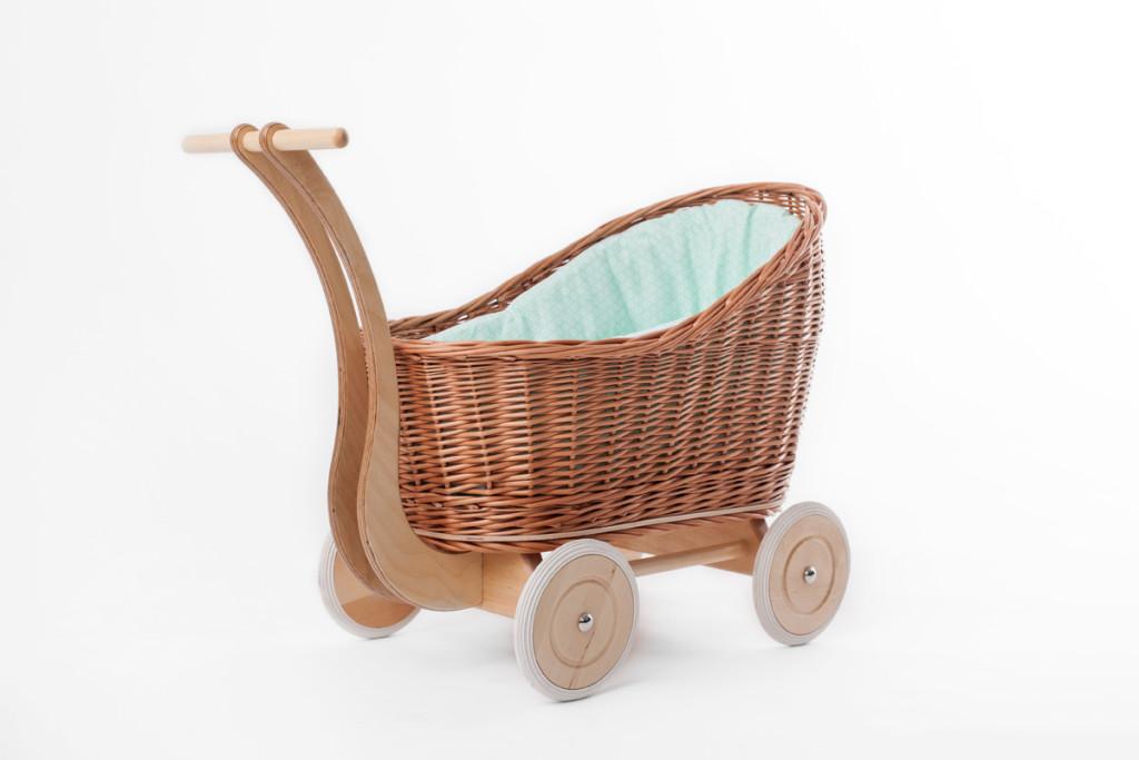 5 Petit Landau - Wózek dla Lalek Colette Naturalny