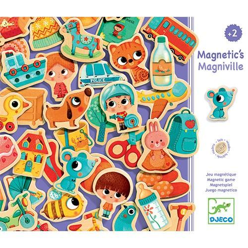 Djeco Magnetyczna Układanka Magniville