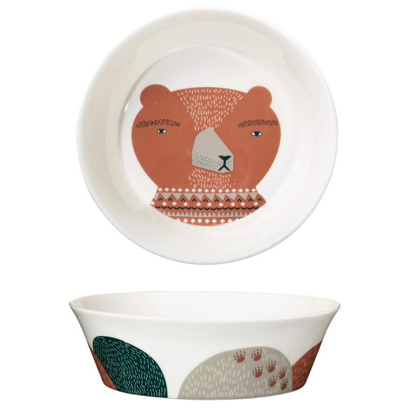 Donna Wilson - Miska z Porcelany Daddy Bear