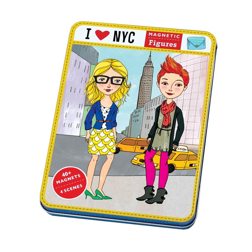 Mudpuppy - Magnetyczne Postacie I Love NYC